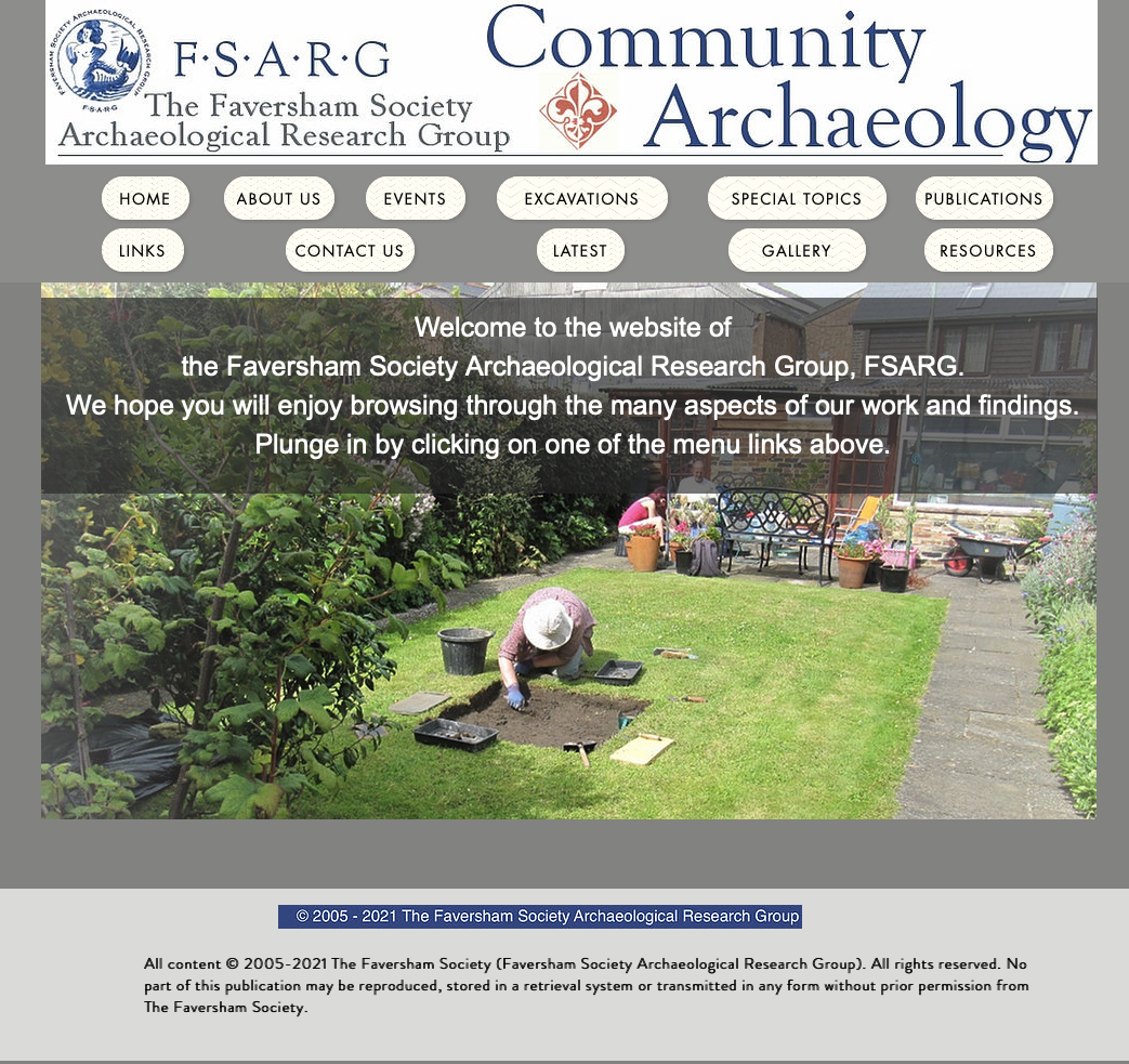 FSARG's new website